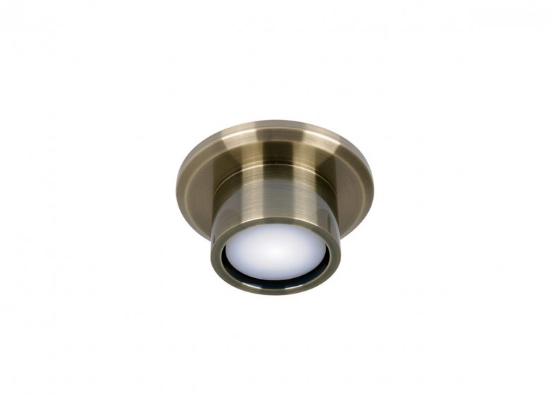 Lucci Air Climate II Antique Brass Light Kit