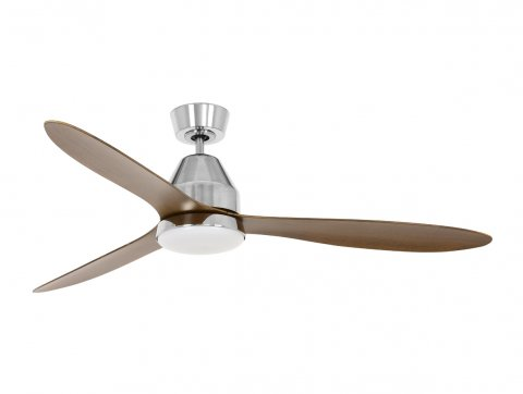 Lucci Air Whitehaven Brushed Chrome DC