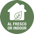 Alfresco or Indoor